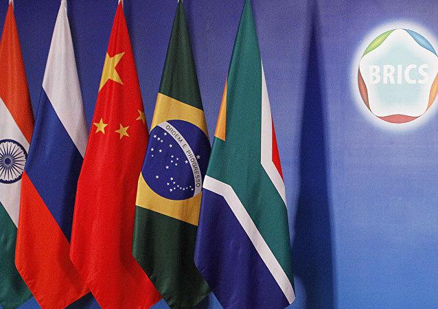 Las banderas de los BRICS