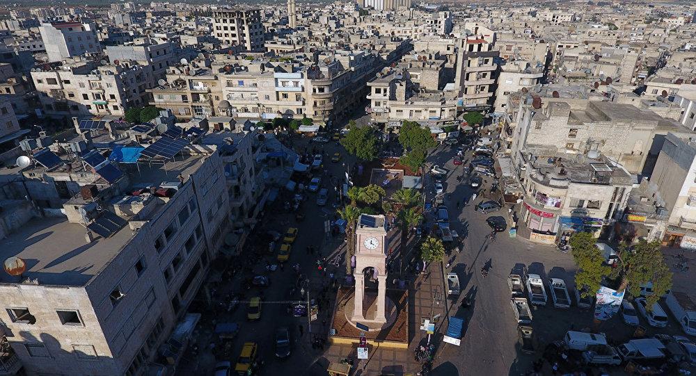 La ciudad siria de Idlib