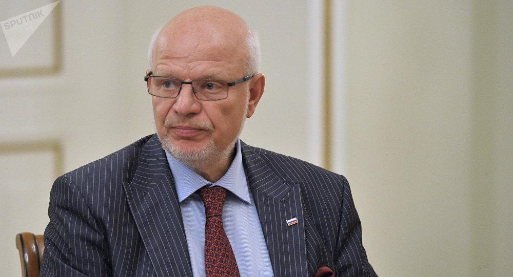 Mijaíl Fedótov, jefe del Consejo Presidencial para los Derechos Humanos (CDDHH)