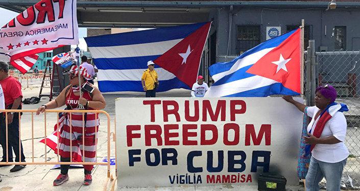 Trump utiliza discurso de la Guerra Fría contra Cuba — Rusia