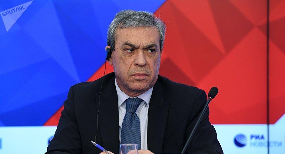 Abdel Hafiz Nofal, embajador palestino en Rusia