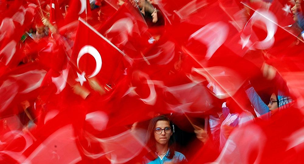Las banderas de Turquía