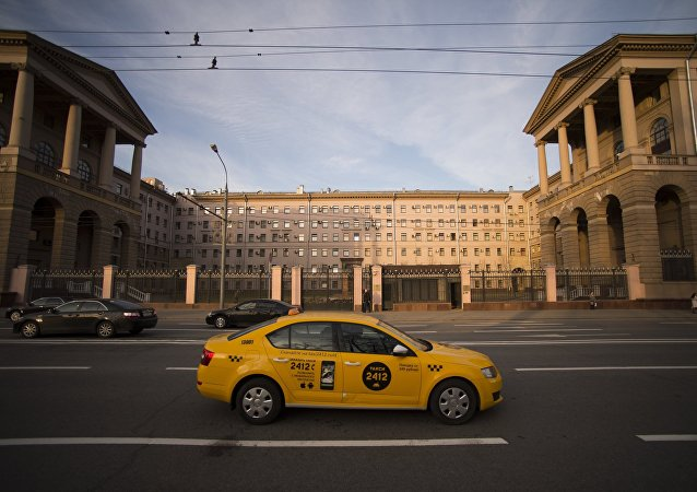 Taxi de Moscú, Rusia