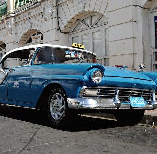 Taxi en Cuba (Archivo)