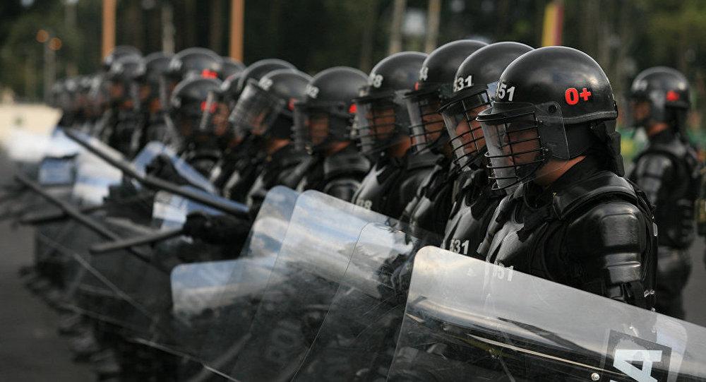 Escuadrón Móvil Antidisturbios de Colombia