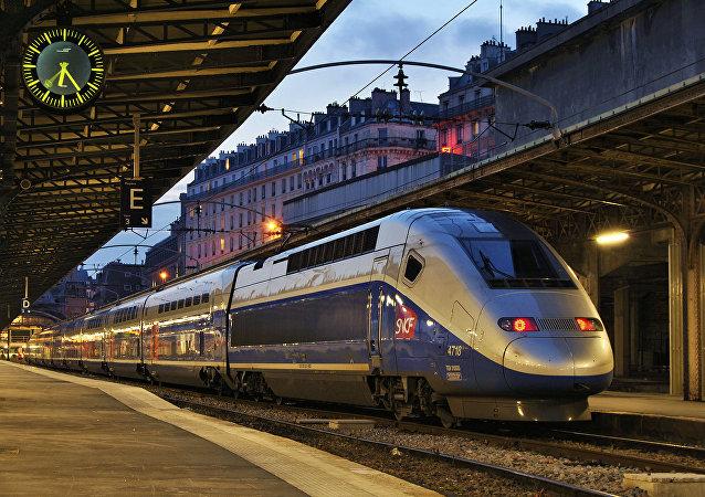 Un tren de SNCF (imagen referencial)
