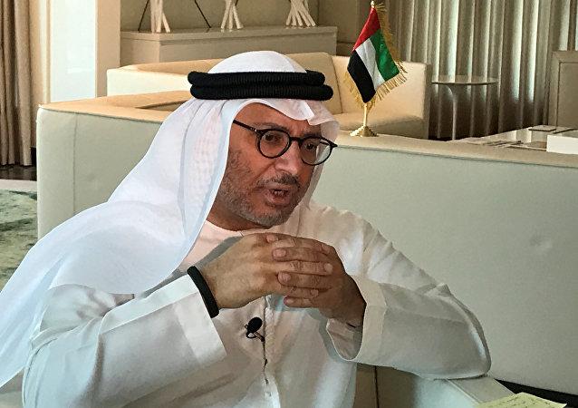 Anwar Gargash, ministro de Exteriores de Emiratos Árabes Unidos