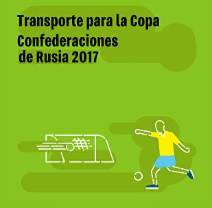 Transporte para la Copa Confederaciones de Rusia 2017