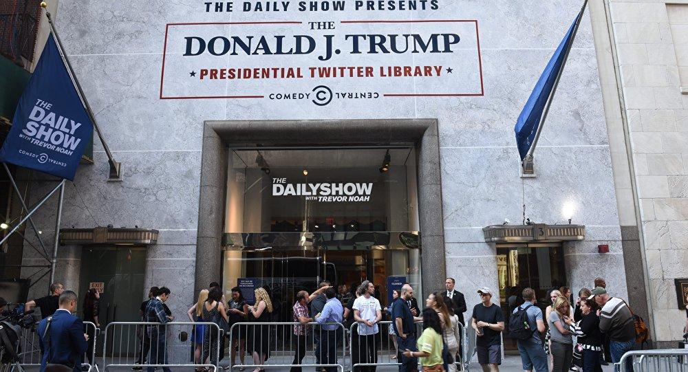 La 'biblioteca presidencial' de los tuits de Trump