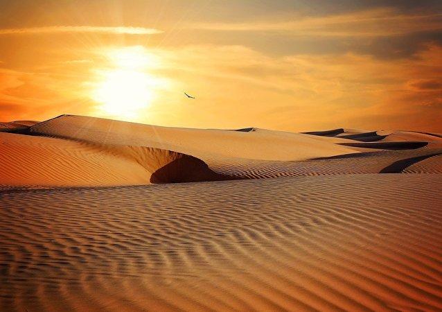 Un deserto (archivo)