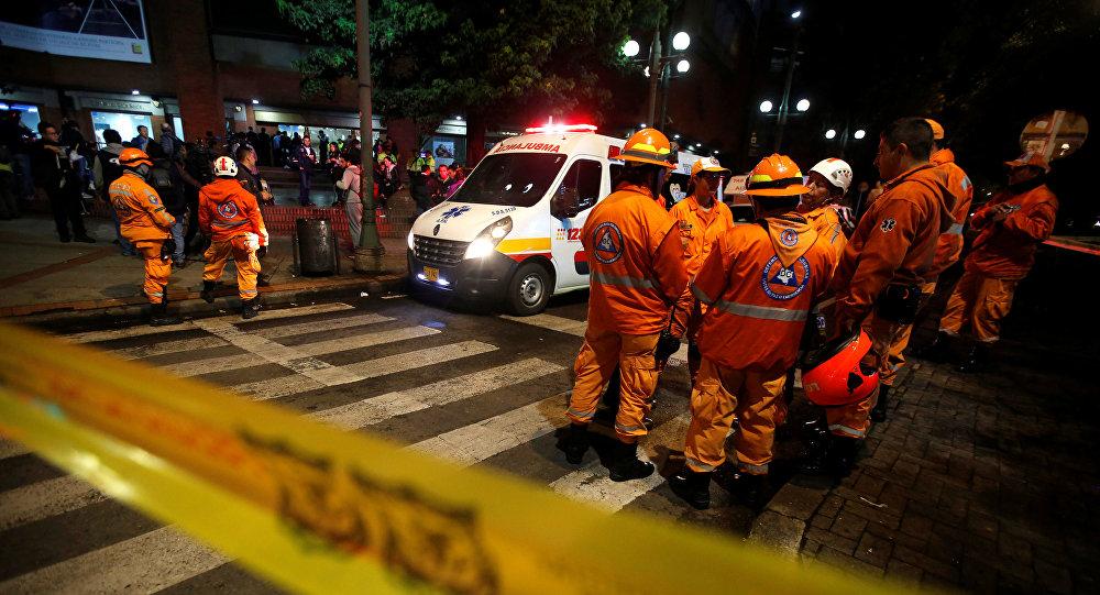 Presunto atentado terrorista deja 3 muertos en Colombia
