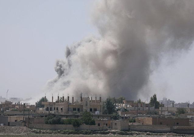 Al Raqa, Siria (archivo)