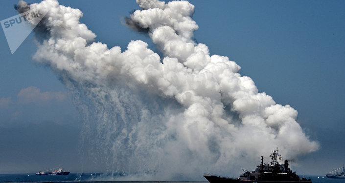 Un buque militar ruso (archivo)