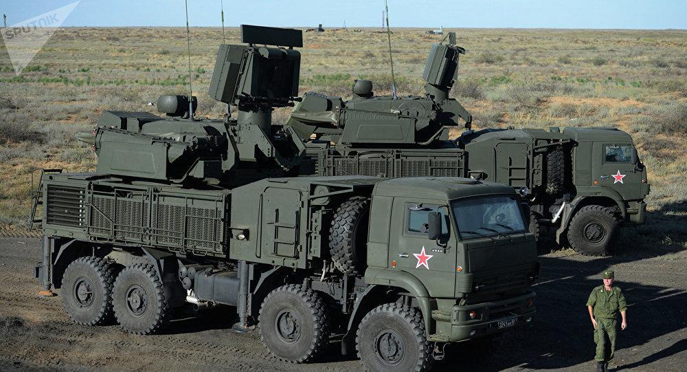 Sistemas antiaéreos Pántsir-S1 (archivo)