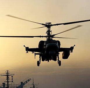 Helicóptero ruso Ka-52K (imagen referencial)