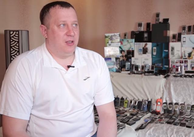 El coleccionista ruso Denis Kichkin