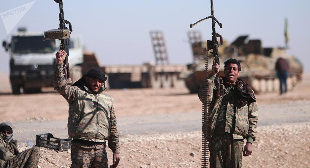 Fuerzas Democráticas de Siria (archivo)