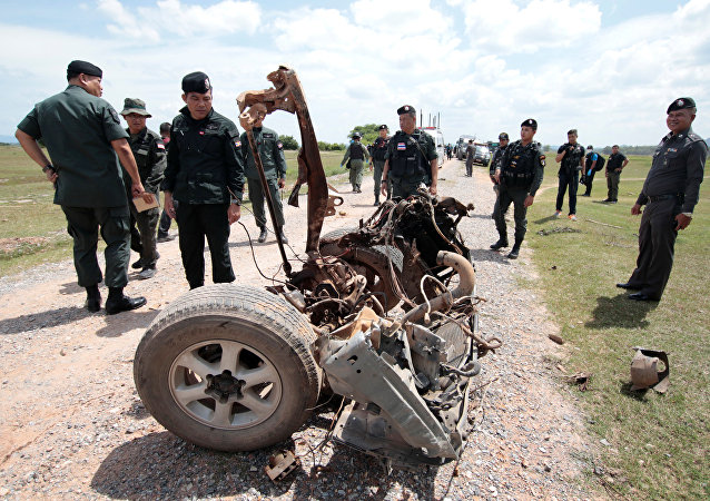 Explosión en el sur de Tailandia