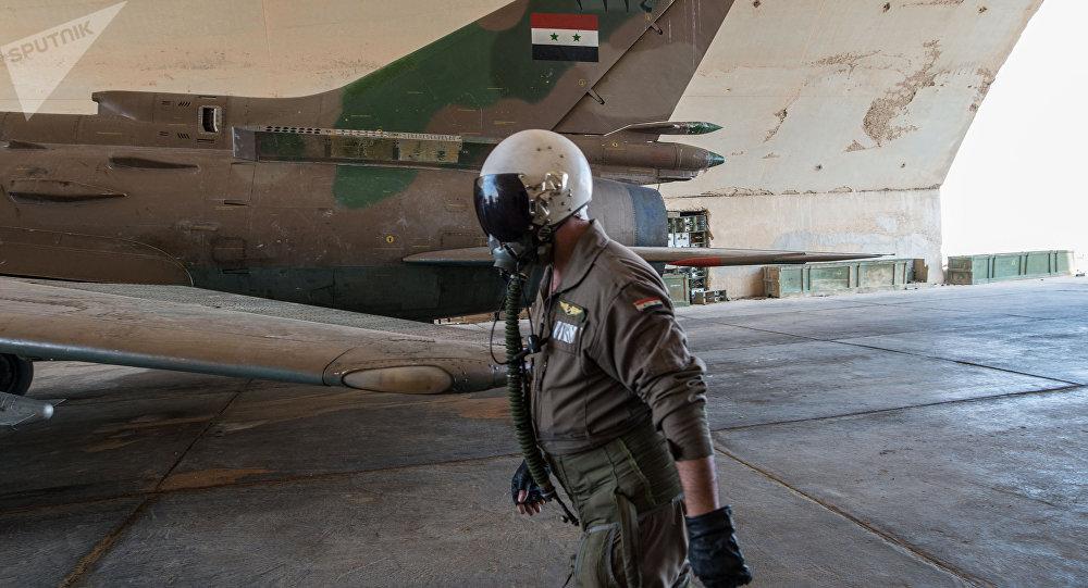 Un Su-22 sirio