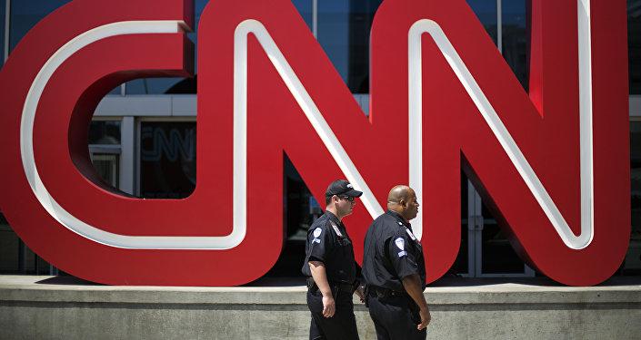 La sede del canal CNN en Atlanta, EEUU