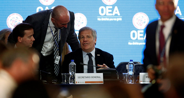 La 29 Reunión de Consulta de ministros de Relaciones Exteriores de la OEA