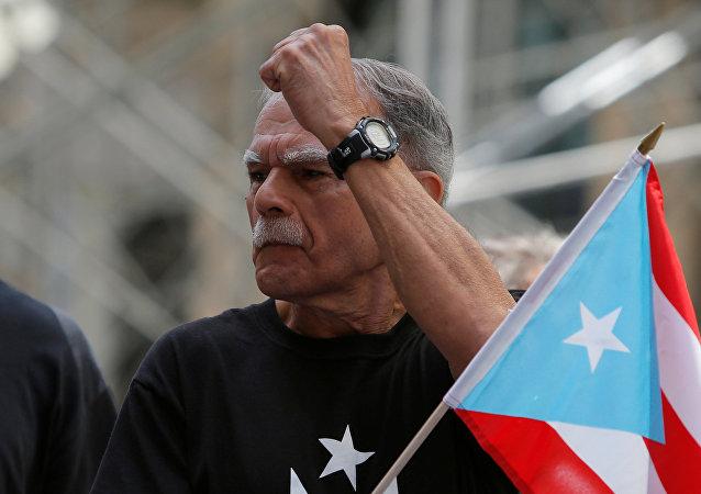 Óscar López Rivera, líder independentista puertorriqueño