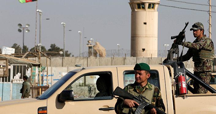 La base aérea estadounidense Bagram