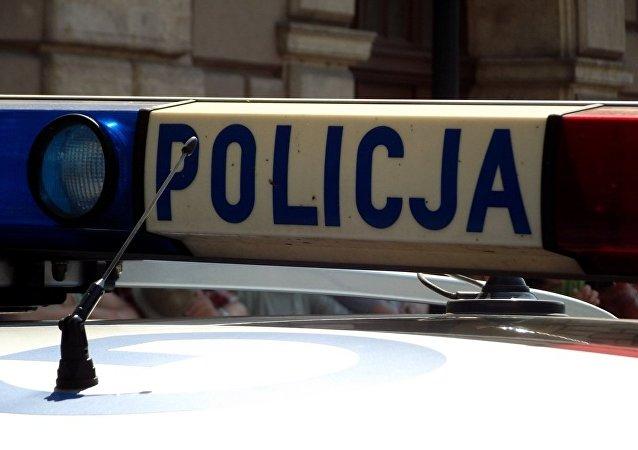 La policía polaca