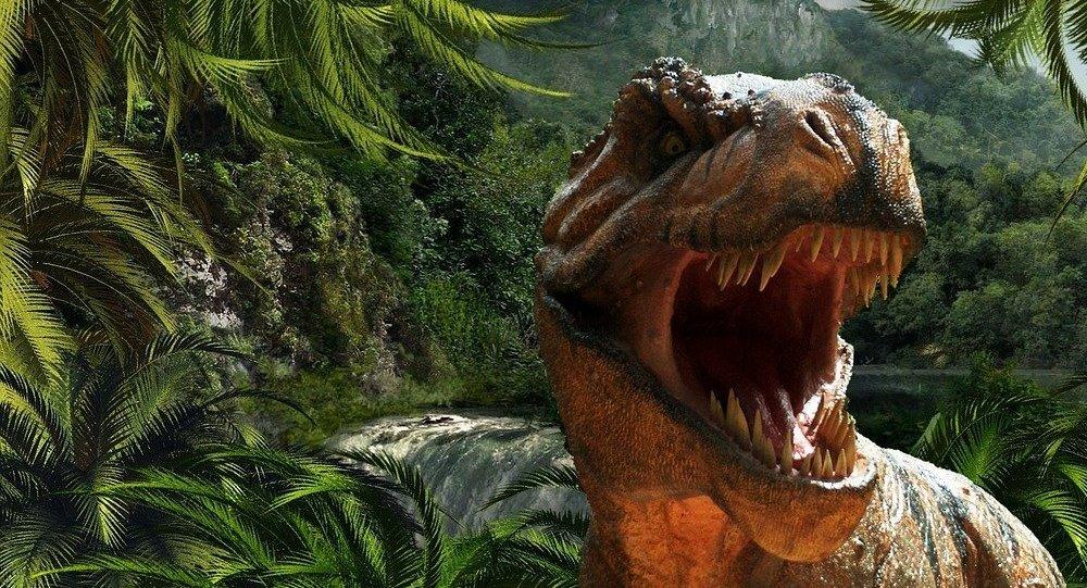 Un dinosaurio (imagen referencial)