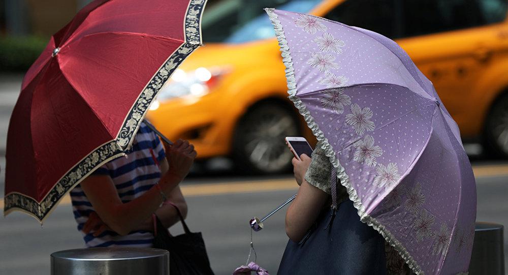 Tiempo en Nueva York, EEUU