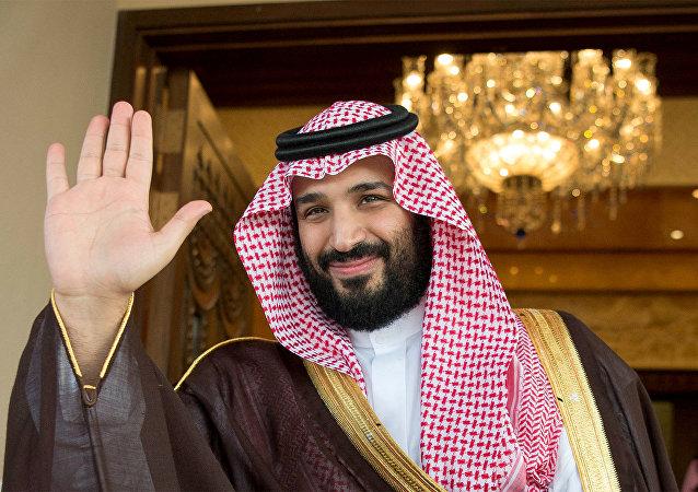 El príncipe heredero Mohamed bin Salman, jefe de la comisión anticorrupción