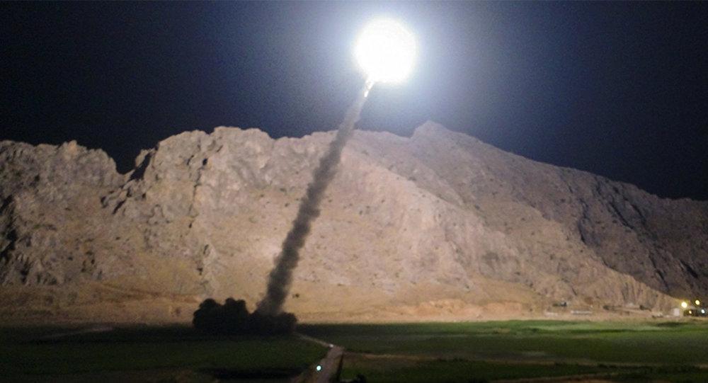 Lanzamiento de un misil iraní (archivo)