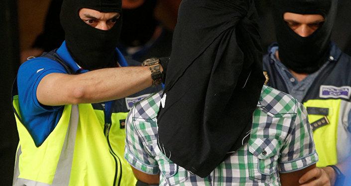 Detención de Rachid El Omari, miembro de Daesh, en Madrid, España