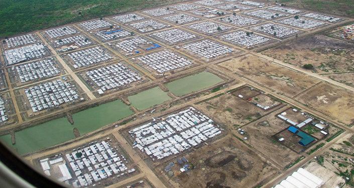 Campo de refugiados en Sudán del Sur (archivo)