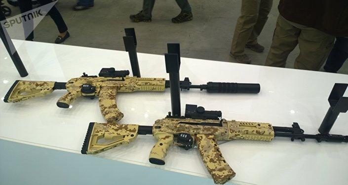 Fusiles AK-15 y AK-12 (archivo)