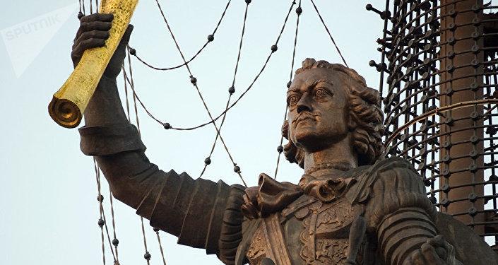 El monumento a Pedro el Grande