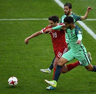 Rusia - Portugal durante la Copa Confederaciones 2017