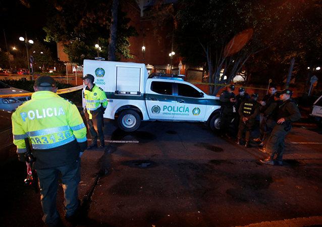 La policía de Bogotá, Colombia (archivo)