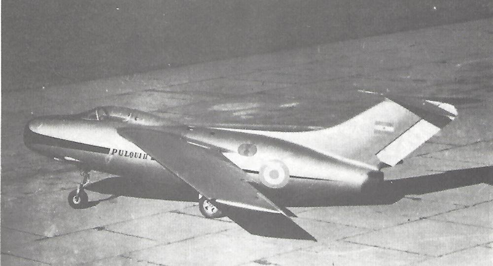 Prototipo del Pulqui II