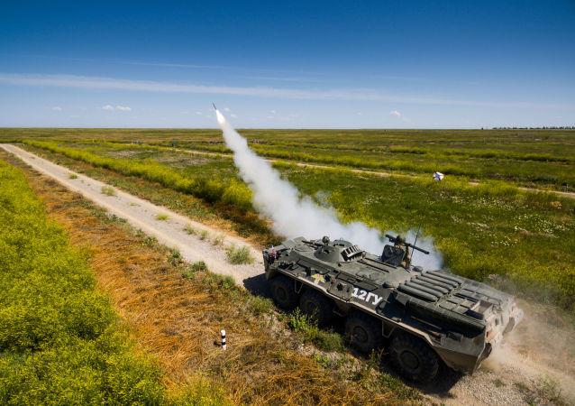 'Cielo despejado': сompetición de operadores de sistemas antiaéreos