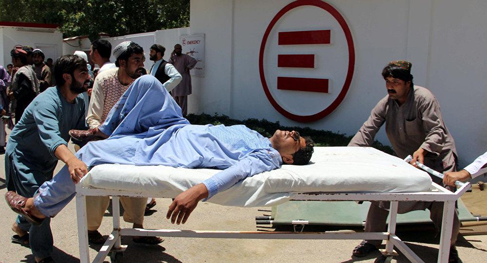 Un herido tras el ataque en Lashkar Gah, Afganistán (archivo)