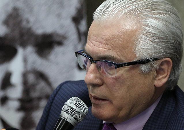 Baltasar Garzón, el abogado de Julian Assange (archivo)