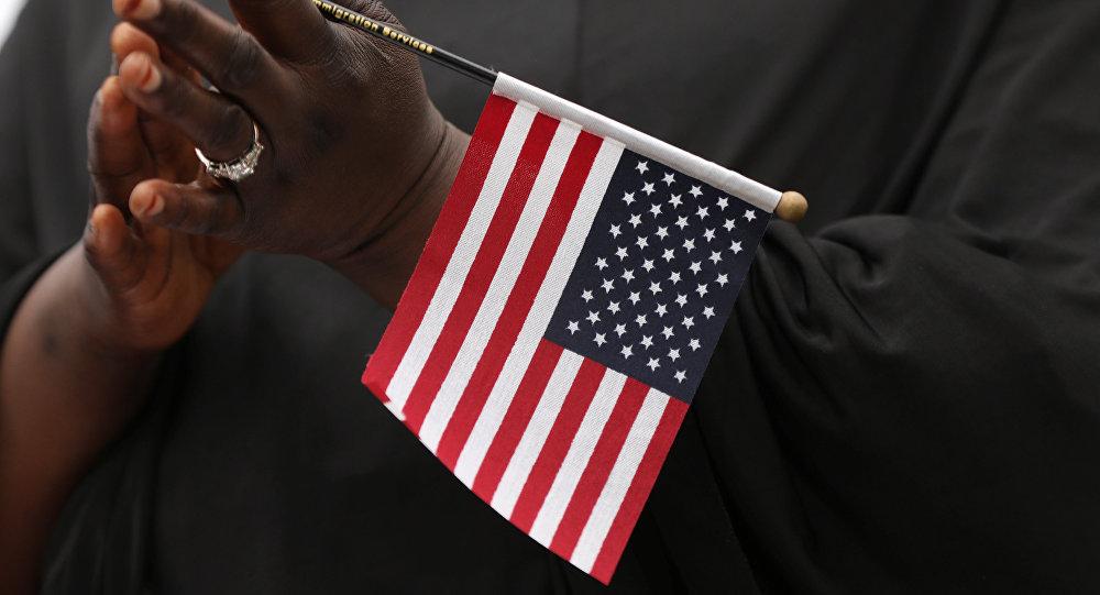 Bandera de EEUU (archivo)