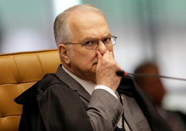 Edson Fachin, magistrado brasileño del Tribunal Supremo Federal
