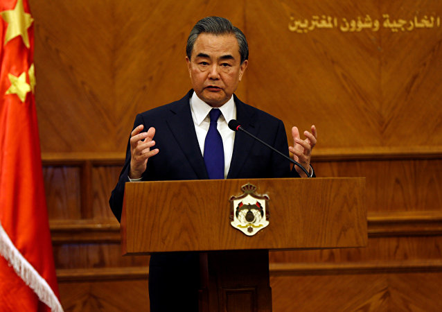 Wang Yi, ministro de Exteriores de China