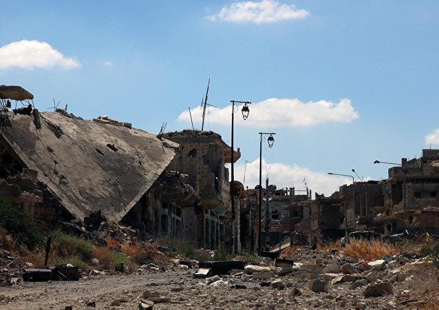 Situación en Deraa, Siria