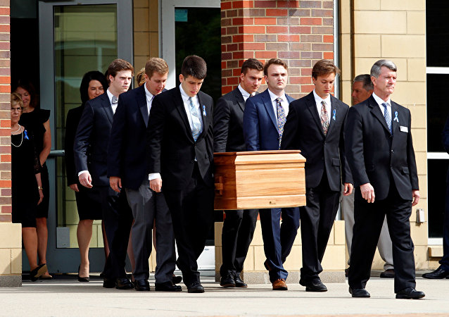 Funeral de Otto Warmbier, estudiante estadounidense