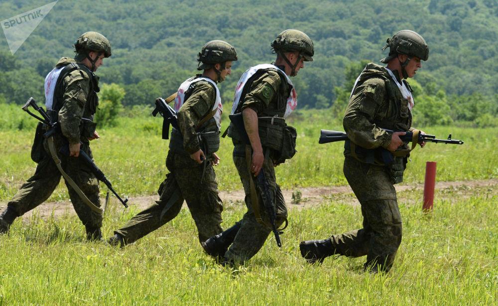 Competiciones de la Infantería Naval de Rusia
