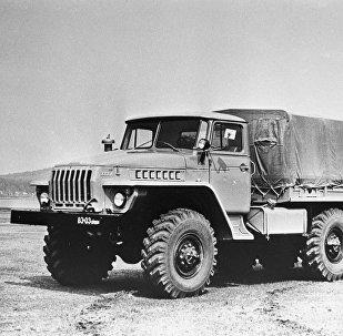 Ural 4320, camión soviético (imagen referencial)