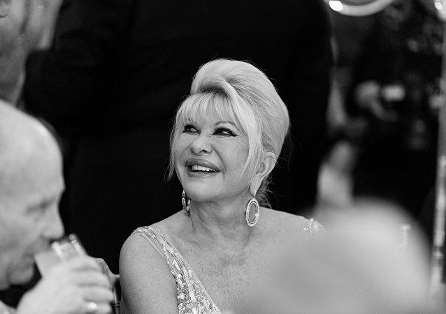 Ivana Trump asiste al beneficio de la gala anual del Fashion Institute of Technology en The Plaza
